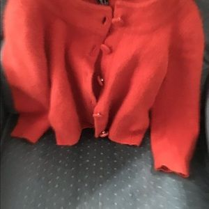 Rust color H&M sweater girls
